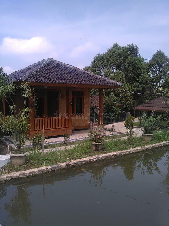 Hause de bambú imagen de archivo libre de regalías