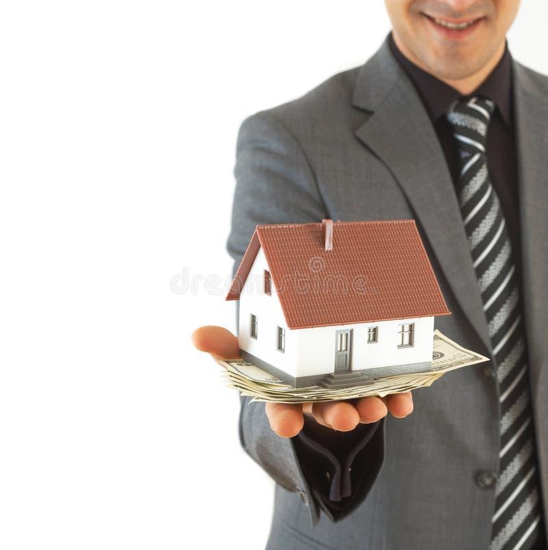 Hausfinanzierung lizenzfreies stockbild