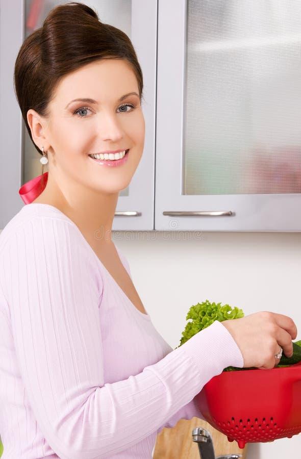 Hausfrau lizenzfreie stockbilder