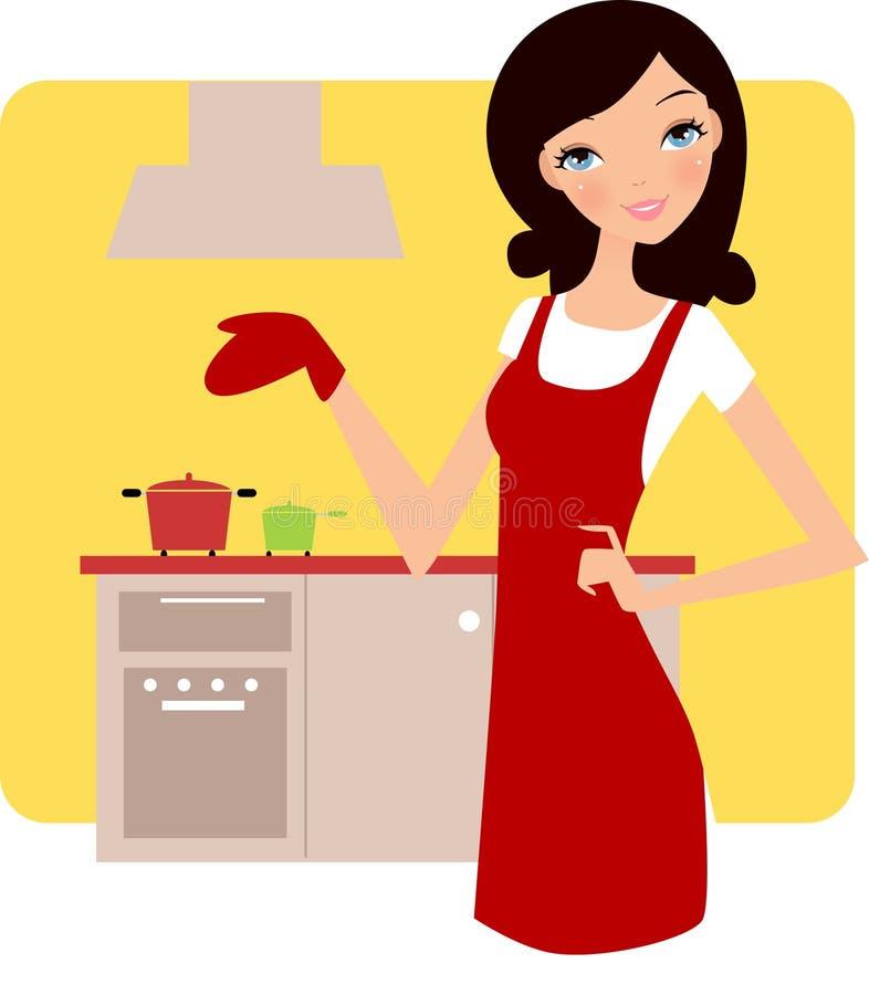 Hausfrau stock abbildung