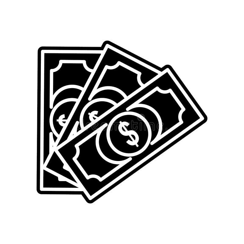 Haushaltplanikone Element des Kasinos f?r bewegliches Konzept und Netz Appsikone Glyph, flache Ikone f?r Websiteentwurf und Entwi stock abbildung