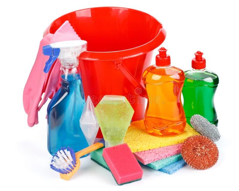 Haushaltschemikalienwaren lizenzfreies stockfoto