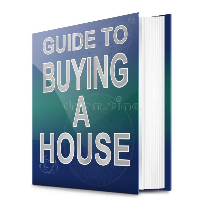 Hauskaufkonzept. lizenzfreie abbildung