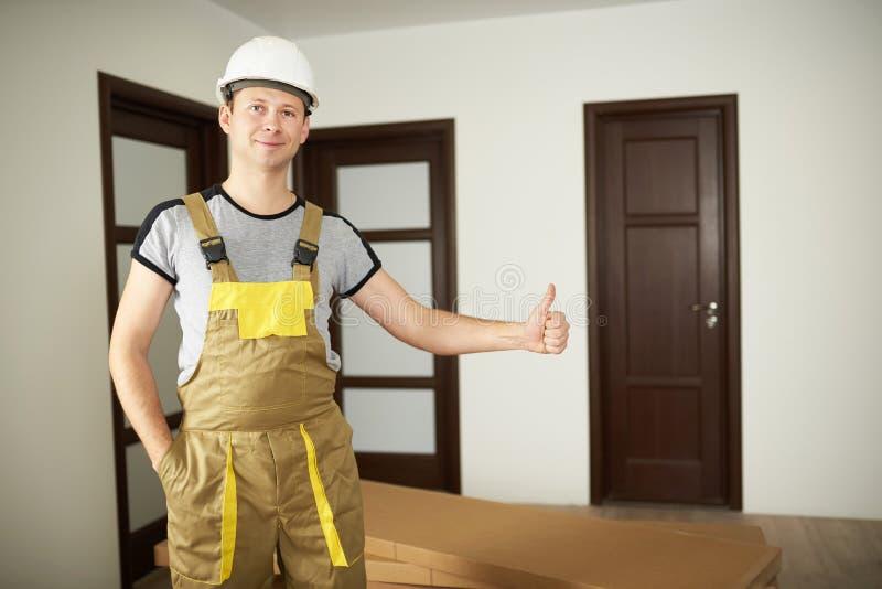 Hauslieferungskonzept lizenzfreie stockbilder