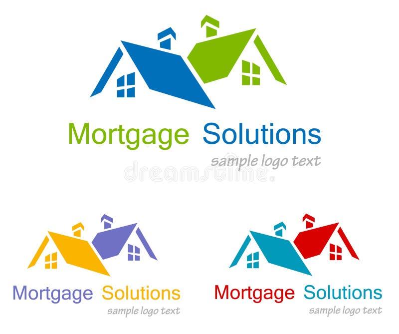 Haus-Logo lizenzfreie abbildung