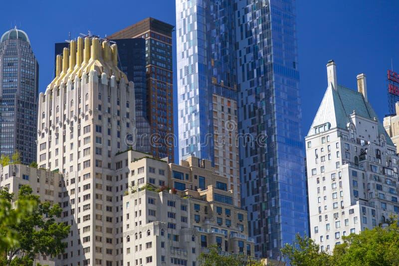 Hausluxushotel JW Marriot Essex nahe Central Park in Manhattan stockbild