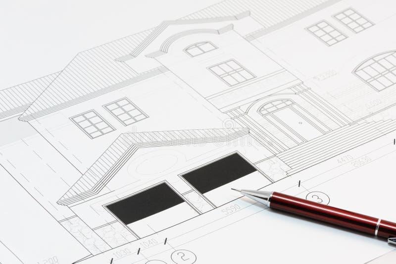 Atemberaubend Liniendiagramm Des Hausplans Zeitgenössisch - Die ...