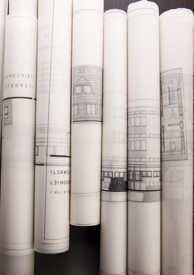 Hausplan lizenzfreie stockbilder