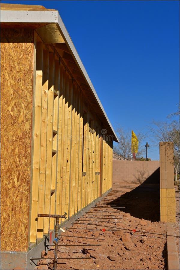 Hausprojekt im Bau lizenzfreies stockfoto