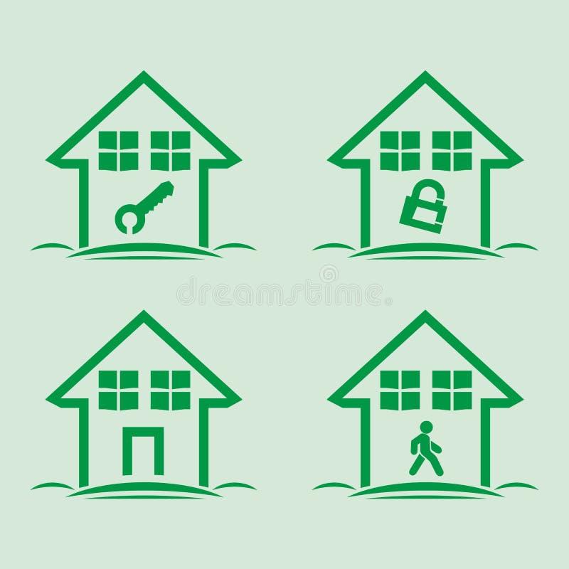 Haussatz lizenzfreie stockbilder