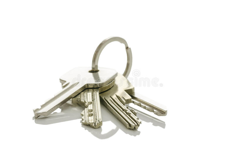 Hausschlüssel stockfoto