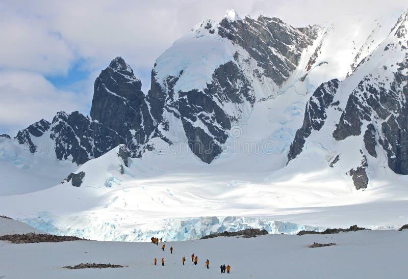 Hausse, Antarctique images stock