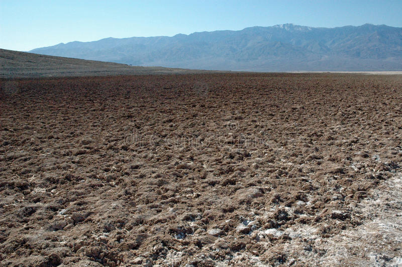 Hausse de Death Valley photographie stock libre de droits