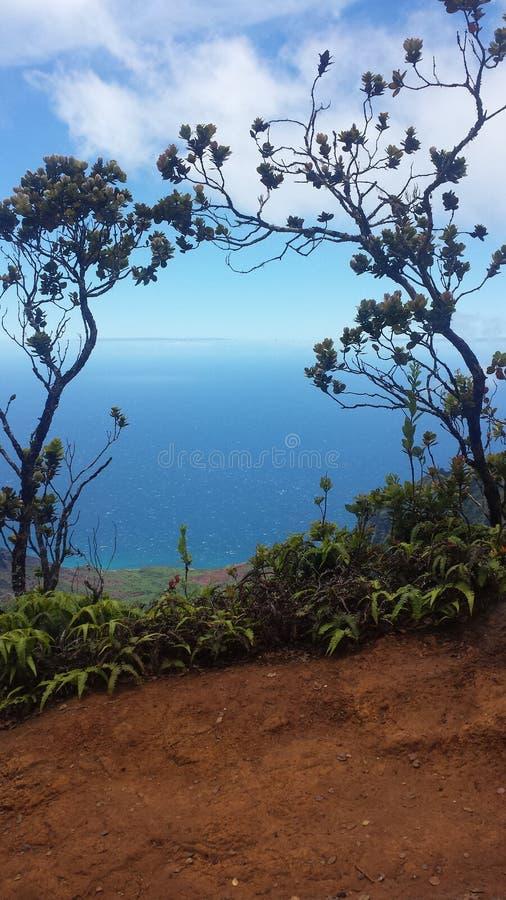 Hausse de Kauai photographie stock libre de droits