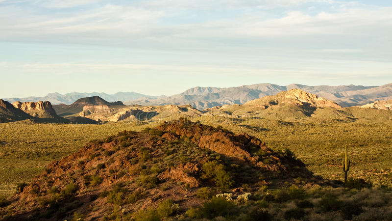 Hausse de l'Arizona images stock