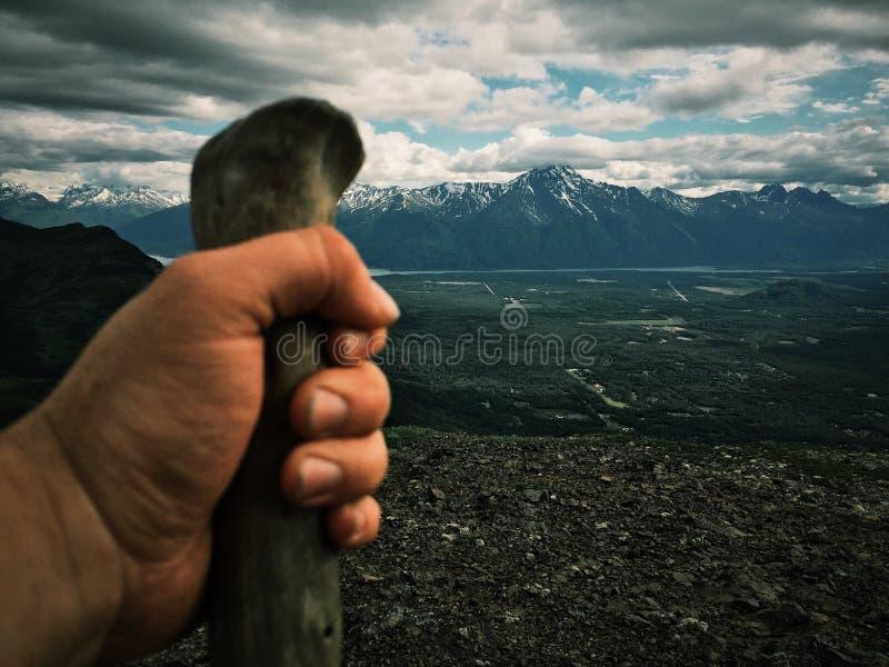 Hausse de montagne photos libres de droits