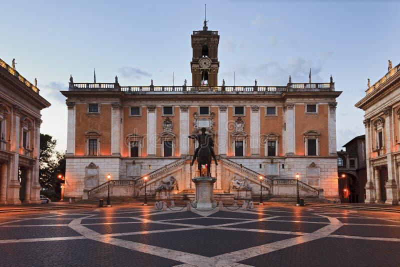 Hausse De Rome Capitoline Photo libre de droits