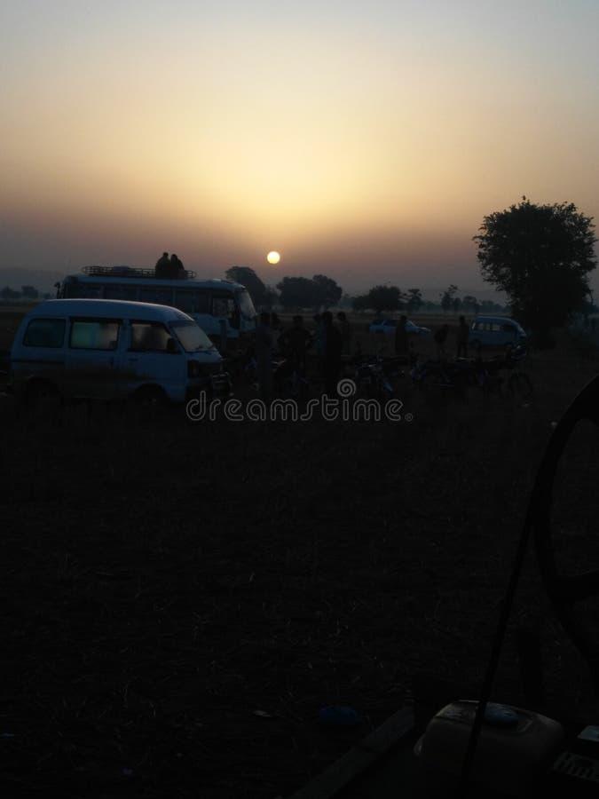 Hausse de Sun photos libres de droits