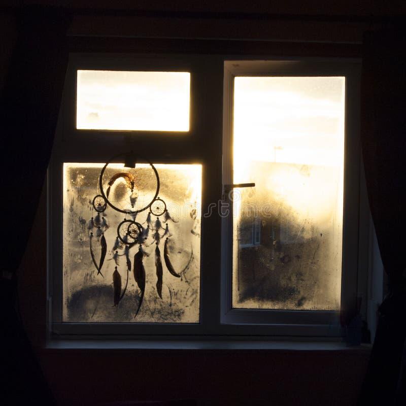 Hausse de Sun par le receveur rêveur image libre de droits