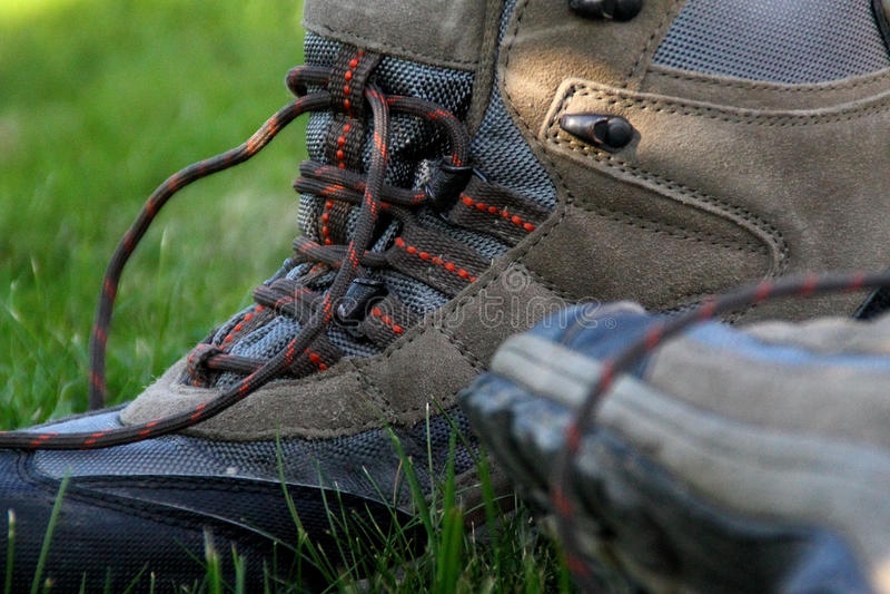 Hausse des chaussures photo libre de droits