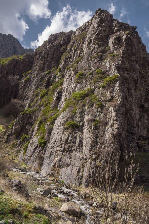 Hausse en parc national de kazbegi image stock