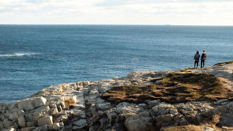 Hausse Nova Scotia photographie stock