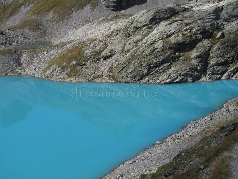 hausse sauvage du lac 5-Lakes de turquoise, Wildsee, ch image stock