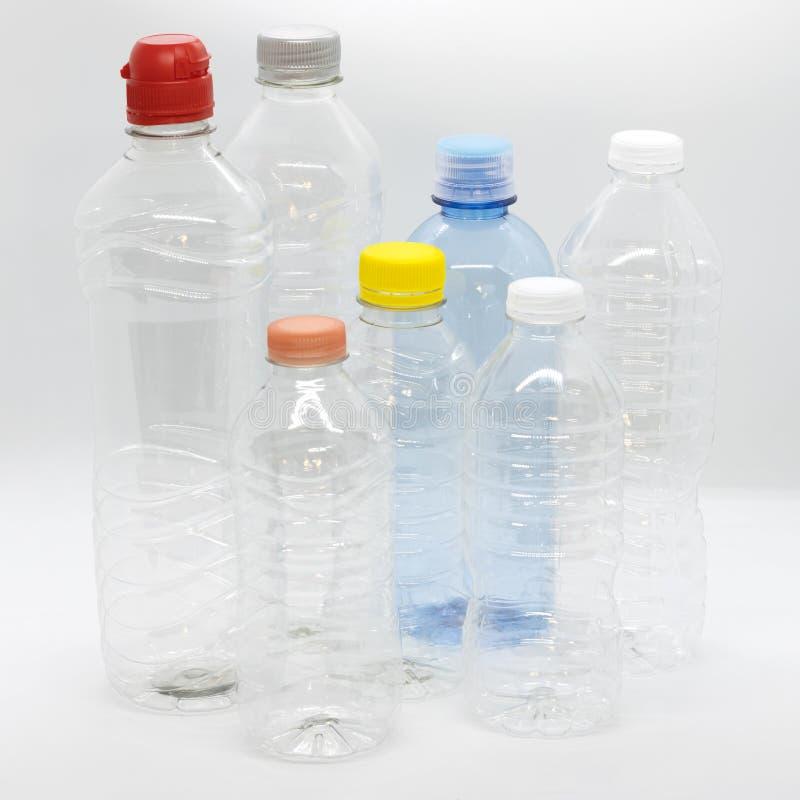 HAUSTIER oder Plastikflasche lizenzfreie stockbilder