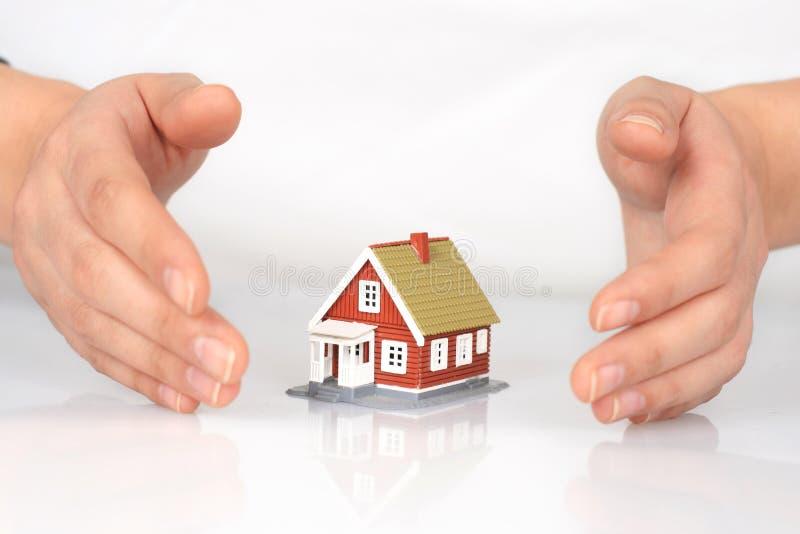 Hausversicherung. lizenzfreie stockfotografie