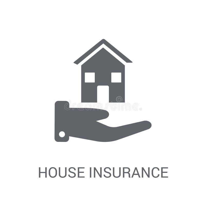 Hausversicherungsikone  vektor abbildung
