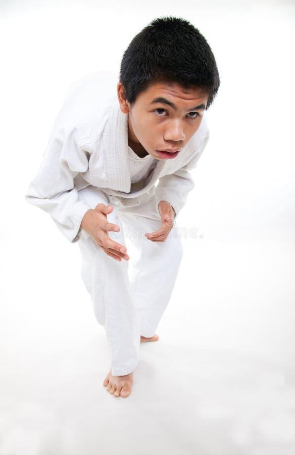 Haut écolier adolescent asiatique image libre de droits