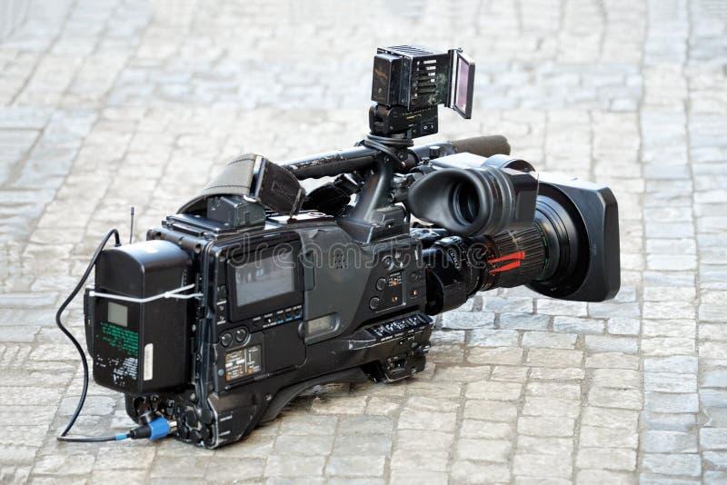 Haut étroit de caméscope Vue de côté image stock