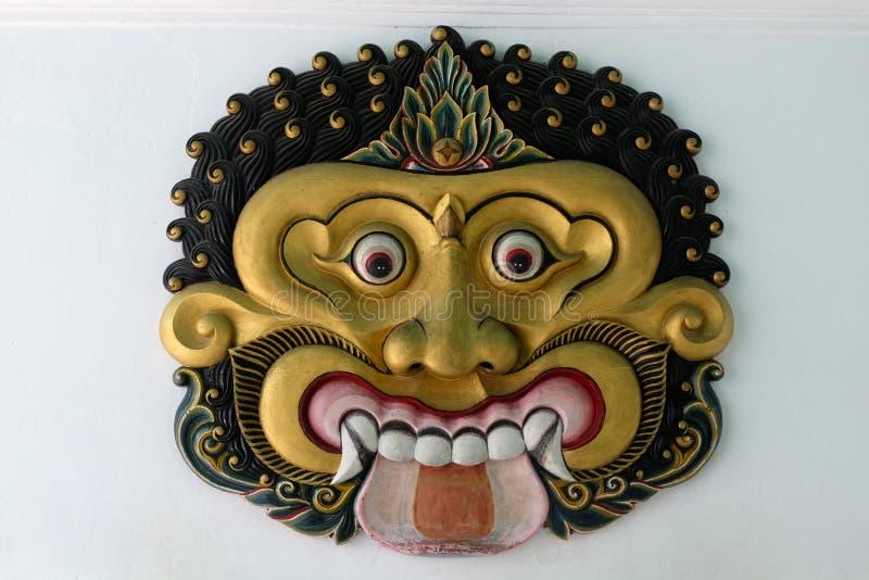 Haut étroit de masque, Yogyakarta image stock