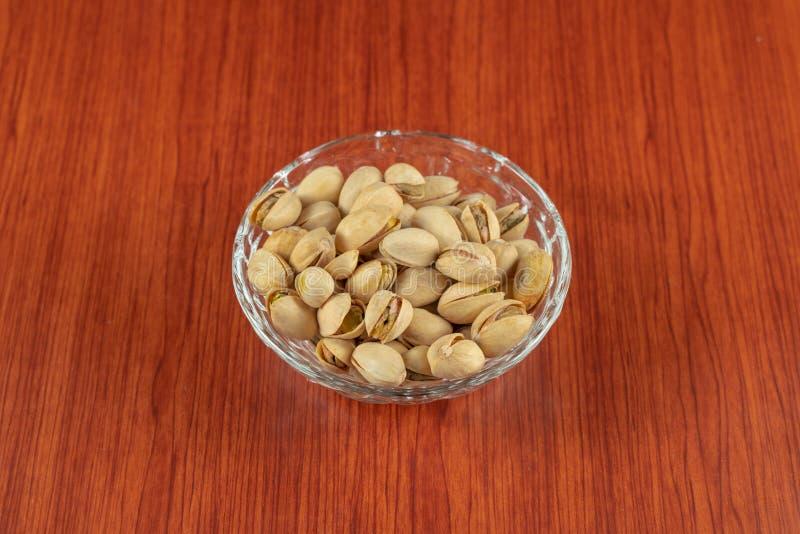 Haut étroit de pistaches Sain, naturel images stock