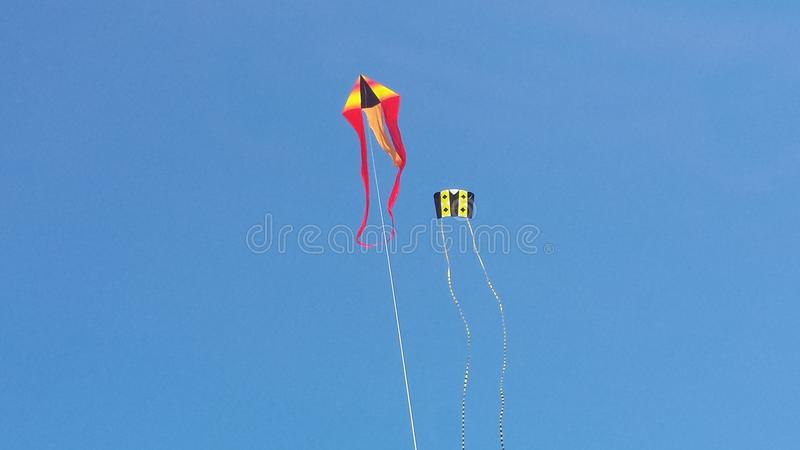 Haut cerf-volant de vol photo libre de droits