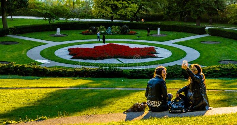 Haut parc à Toronto, Canada images libres de droits