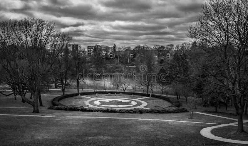 Haut parc Toronto photos libres de droits