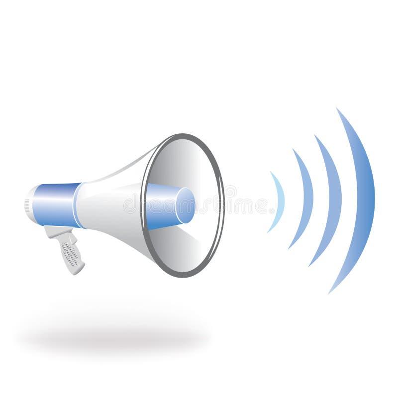 Haut-parleur illustration de vecteur
