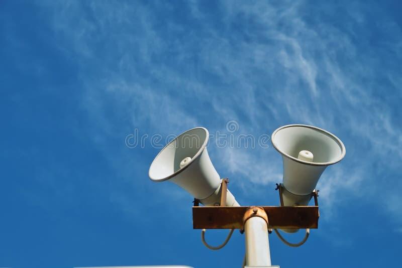haut-parleur photographie stock libre de droits