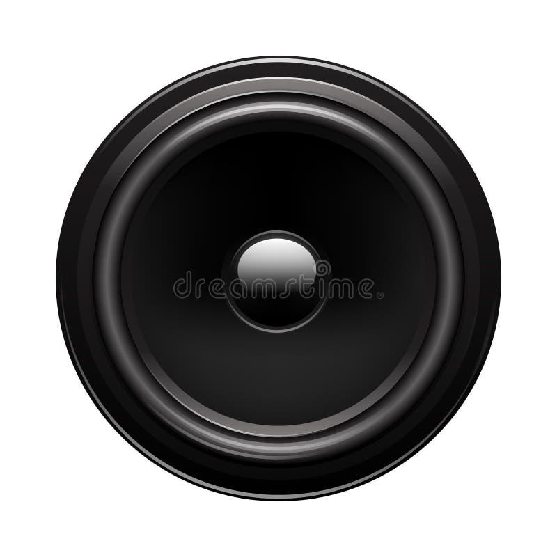 Haut-parleur audio illustration libre de droits