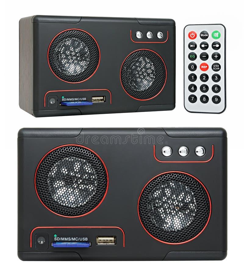 Haut-parleur MP3-player photos stock