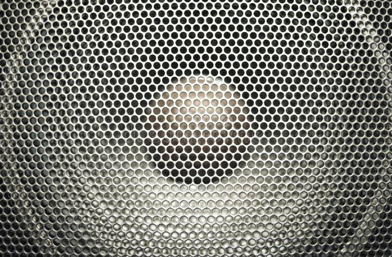 Haut-parleur sonore image stock