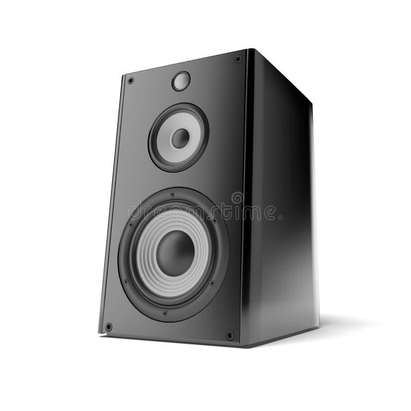 Haut-parleur sonore illustration stock