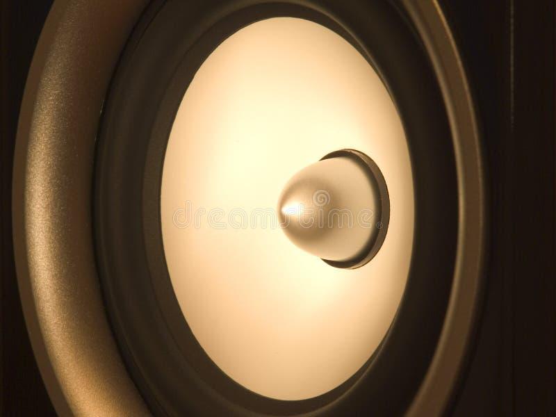 Haut-parleur sonore images stock