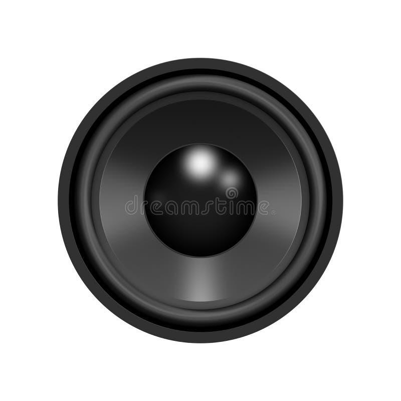 Haut-parleur - XL illustration stock