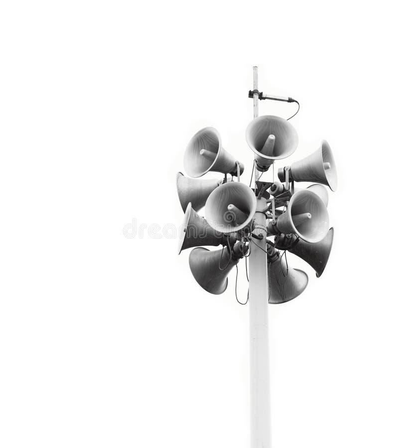 Haut-parleurs image stock