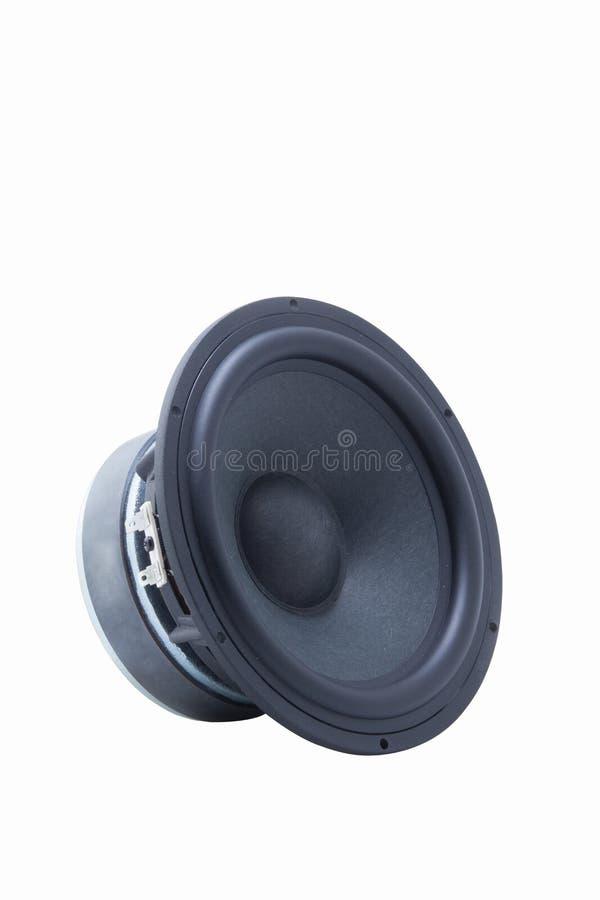 Haut-parleurs de voiture images stock