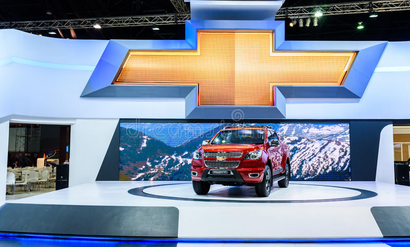 Haut pays de Chevrolet le Colorado photo stock