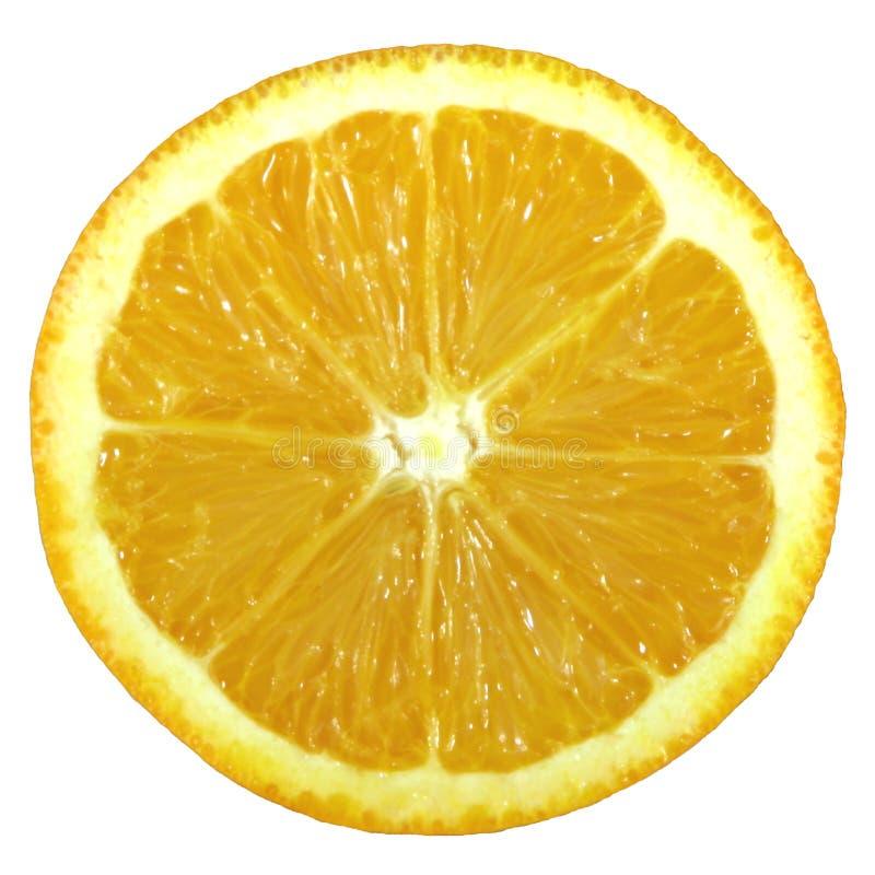 HAUT proche d'orange photographie stock