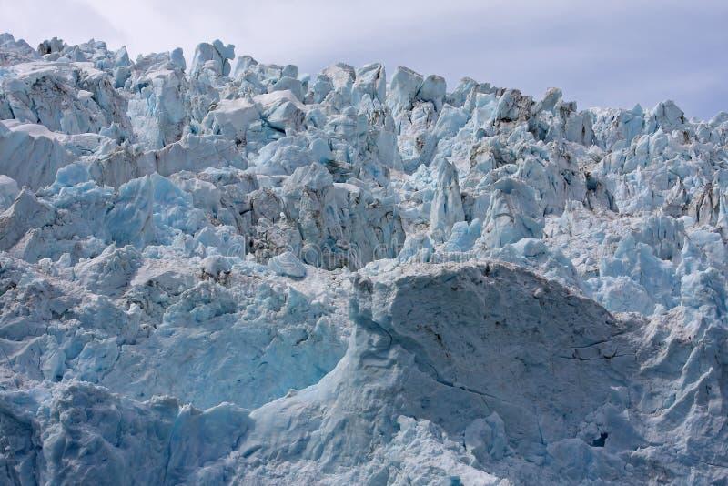Haut proche de glacier photographie stock libre de droits